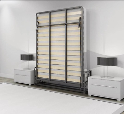 Vertical Double Wallbed  ( Murphy bed, Pull-out bed, Foldaway bed, Hidden bed )
