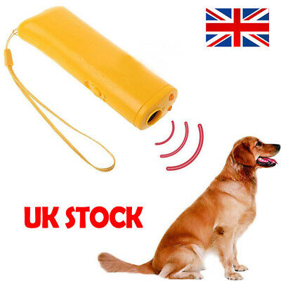Pet Dog Anti Barking Ultrasonic Device Puppy Stop Training Repeller Trainer Tool