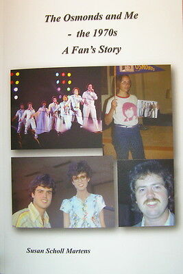 The Osmonds and Me-The 1970s  -Great Book for Osmond Fans