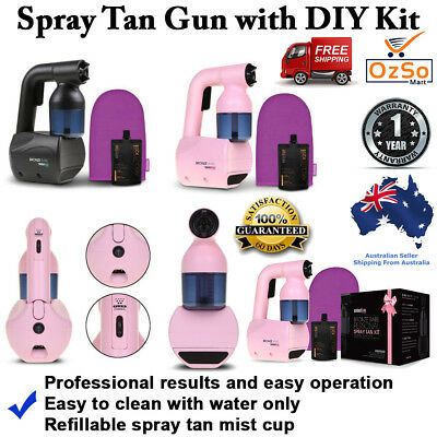 Portable Spray Tan Gun Machine Professional Tanning Kit Sunless