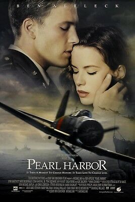 """Pearl Habor"" ..Ben Affleck Kate Beckinsale...Classic Movie Poster Various Sizes"