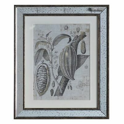 NEW Castle Road Interiors Metallic Botanic I Framed Wall Art