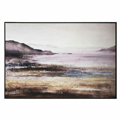 NEW Castle Road Interiors Sparkling Seascape Framed Canvas Print
