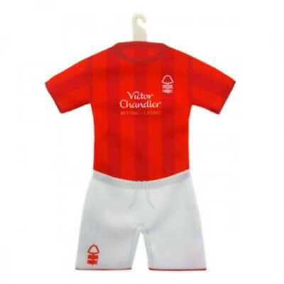 Nottingham Forest F.c Official Product Car Hanging Mini Kit One Size Small