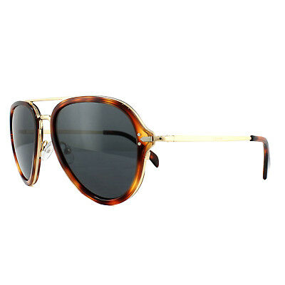 e447aab65f CELINE SUNGLASSES 41374S Drop 3UA IR Havana Gold Grey - EUR 185,45 ...