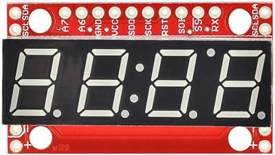 7 Segment Serial Display Board - SPARKFUN ELECTRONICS