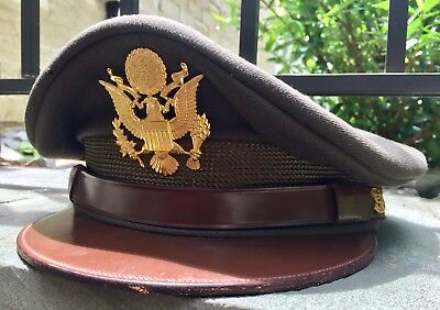 MINT WWII US Army Officer's Visor Service Cap