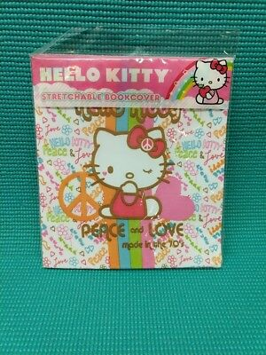 Hello Kitty Stretchable Book Cover Standard 8 x 10 Books NEW!  FREE Shipping!