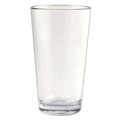 Strahl 403803 Design+ Contemporary 16 Oz Clear Mixing Glass - 12 / CS
