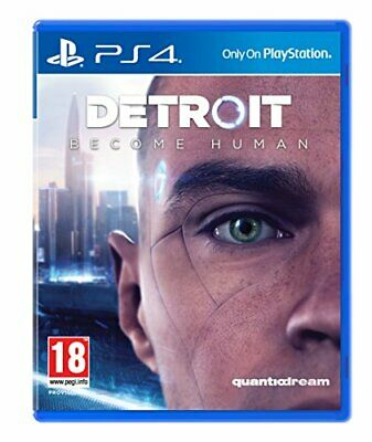Detroit Become Human (PS4) - Game  XCVG The Cheap Fast Free Post