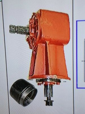 Universal Rotary Cutter 100HP gearbox 1:1.46 RATIO