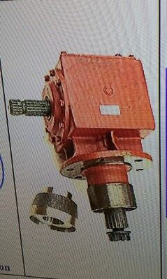 Universal Implement Rotary cutter 130HP  Gearbox 1:1.92 RATIO INCREASE REV DRIVE
