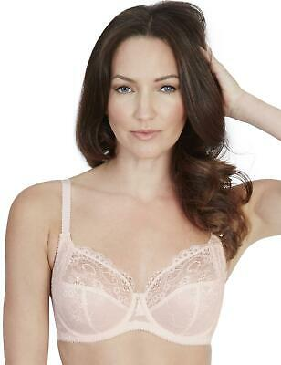 Charnos Bailey Padded Plunge Bra in Blue RRP £28 ONLY £7.90