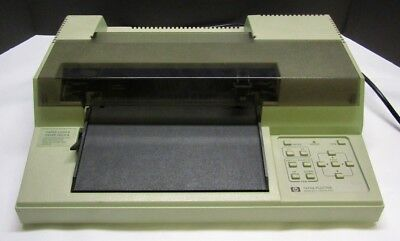 HP 7470A Pen Plotter Printer Vintage with RS-232-C Interface