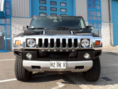 HUMMER H2 Bull Bar Grille Guard By GM/ Chrome Grille and Reg Number