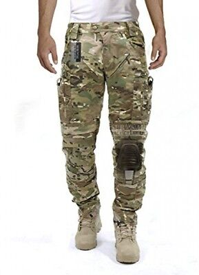 Survival Tactical Gear Men's Airsoft Wargame Tactical Pants with Knee System M)