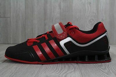 d7f060ee9 30 Adidas Adipower Weightlift M21865 Weightlifting Shoes Men s Size 15 Red  Black