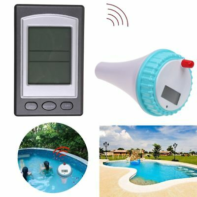Wireless Remote Floating Thermometer Swimming Pool Waterproof Tub Pond Spa CA