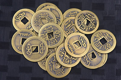 20pcs Chinese Bronze Coin China Old Dynasty Antique Currency Cash