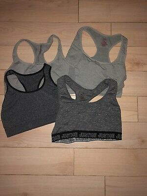 4 justice sports bras