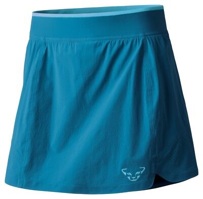 NEW Dynafit REACT DST SoftShell Blue Womens Small Hiking Running Skirt Msrp$80