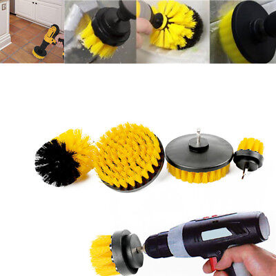 Tile Grout Power Scrubber Cleaning Drill Brush Tub Scrub Kitchen Bathroom Tool