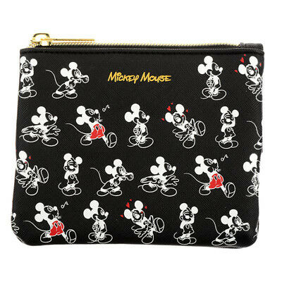 Mickey Tissue Pouch Black Charming Disney Store Japan