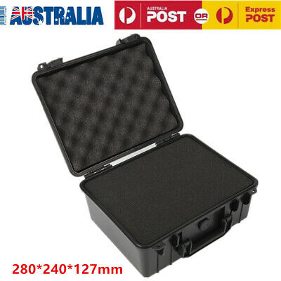 Waterproof Hard Plastic Carry Case Bag Tool Storage Box Portable Organizer OZ