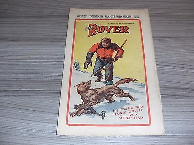 The Rover # 858. September 24Th 1938. British Boys Comic Book. Rare. Dc Thomson.