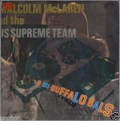 Malcolm Mclaren & The World's Famous Supreme Team - Buffalo Gals 1982 Malc 1