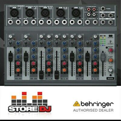 Behringer Xenyx 1002B 10-Input Battery Powered Mixer