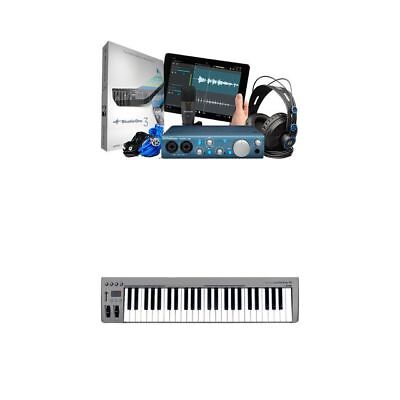 Presonus AudioBox iTwo Studio Bundle With MIDI Keyboard
