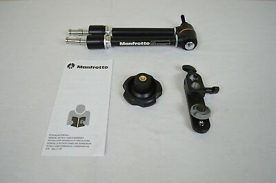 Manfrotto 244 Variable Friction Magic Arm with Camera Bracket - Replaces 2929