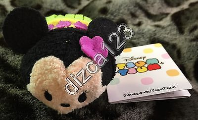 Disney Store Tsum Tsum Minnie Mouse Hawaii EXCLUSIVE