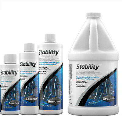 Seachem Stability Establish Biofilter Bacteria , Aquarium Fish Tank ,Water Safe