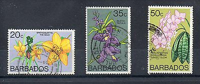 BARBADOS 1974  SG 493b - 550 - 496 used - Key Values