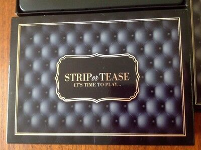 STRIP OR TEASE ADULT BOARD GAME FUN SEXY Kinky