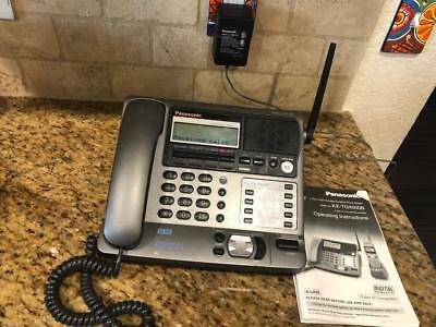 Panasonic KX-TGA400B 4 Line Main Base Only Corded Phone System Works great