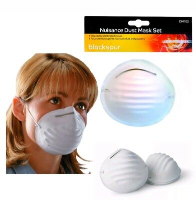 10X Dust Face Mask Filter Mouth Disposable Non-toxic White CX