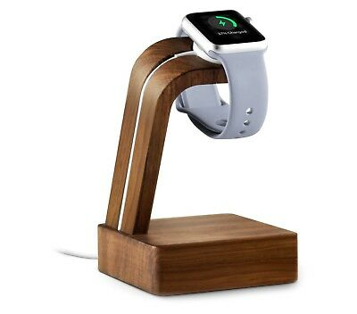 North Apple Watch Charge Dock For 38mm or 42mm Apple Watch. Real Walnut Wood