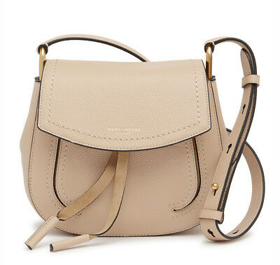 cef85c55ef1 ... NWT $425 Marc Jacobs Maverick Mini Pebbled Leather Shoulder Bag -  Antique Beige 7