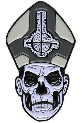 Authentic GHOST Band Papa II Enamel Pin NEW
