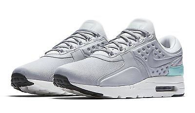 best website 539a6 186e1 NIKE AIR MAX Zero Premium Men's Shoe 881982 002, Pure Platinum/Wolf Grey SZ  13