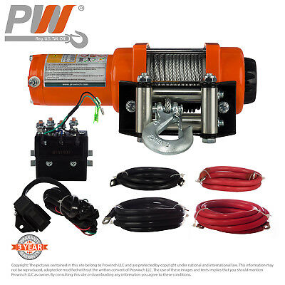 Prowinch 3,000 lbs. Electric 24V Winch Prowinch PWLD series