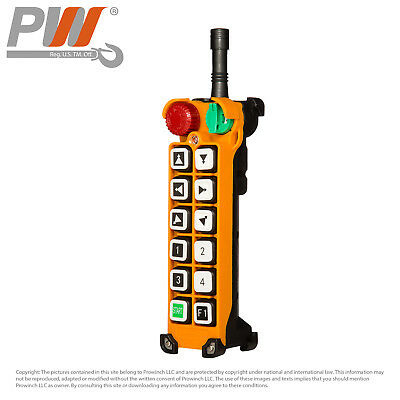 Prowinch F24 Transmitter (only) 12 Buttons Two Speed