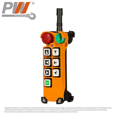 Prowinch F24 Transmitter (only) 6 Buttons Two Speed