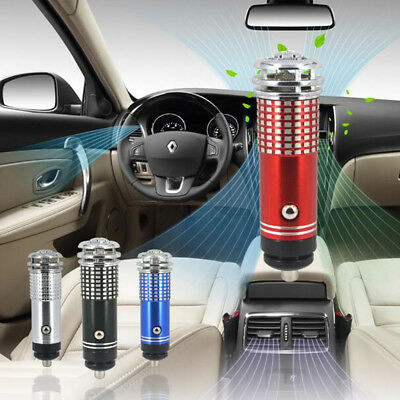 Auto Car Fresh Air Ionic Purifier Oxygen Bar Ozone Ionizer Cleaner Universal Hot