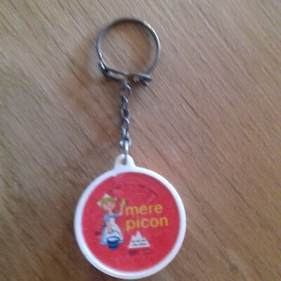 Porte Cles Fromage Portion Mere Picon Alpes Keychain