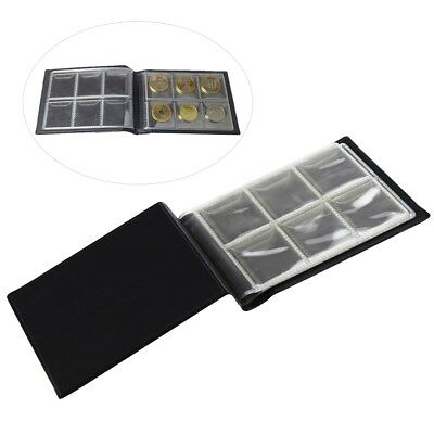 60-Coin Collecting Album Holder Coin Cases Collection Penny Book Collectors Gift