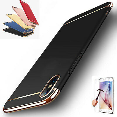 For Huawei P20 Cover Pro/Lite 360° Full Protective Hybrid Case + Tempered Glass